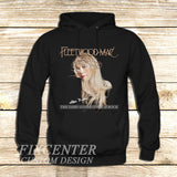 Fleetwood Mac Tour Stevie Nicks Godmother of Rock on Hoodie Jacket for Mens, Womens, Ladies, Boy, Girl, Teen, Sweatshirt, Sweater, Screenprinted, Unisex, Hoodie by FixCenters XS / Black, hoodie - fixcenters, fixcenters  - 1