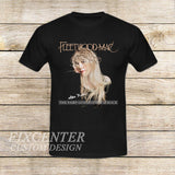 Fleetwood Mac Tour Stevie Nicks Godmother of Rock on T shirt S / Black / Men, tshirt - fixcenters, fixcenters  - 1