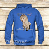 Fleetwood Mac Tour Stevie Nicks Godmother of Rock on Hoodie Jacket XS / Blue, hoodie - fixcenters, fixcenters  - 2