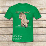 Fleetwood Mac Tour Stevie Nicks Godmother of Rock on T shirt S / Green / Men, tshirt - fixcenters, fixcenters  - 3
