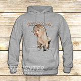 Fleetwood Mac Tour Stevie Nicks Godmother of Rock on Hoodie Jacket XS / Grey, hoodie - fixcenters, fixcenters  - 3