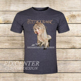 Fleetwood Mac Tour Stevie Nicks Godmother of Rock on T shirt S / Grey / Men, tshirt - fixcenters, fixcenters  - 5