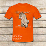 Fleetwood Mac Tour Stevie Nicks Godmother of Rock on T shirt S / Orange / Men, tshirt - fixcenters, fixcenters  - 6