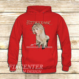 Fleetwood Mac Tour Stevie Nicks Godmother of Rock on Hoodie Jacket XS / Red, hoodie - fixcenters, fixcenters  - 5