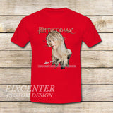 Fleetwood Mac Tour Stevie Nicks Godmother of Rock on T shirt S / Red / Men, tshirt - fixcenters, fixcenters  - 7