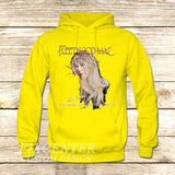 Fleetwood Mac Tour Stevie Nicks Godmother of Rock on Hoodie Jacket XS / Yellow, hoodie - fixcenters, fixcenters  - 7