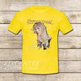 Fleetwood Mac Tour Stevie Nicks Godmother of Rock on T shirt S / Yellow / Men, tshirt - fixcenters, fixcenters  - 8