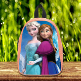 Frozen Disney Princess Elsa and Anna cute Pre-School Backpack - School Bag Small (S) / Light Salmon, School Bag - fixcenters, fixcenters  - 3