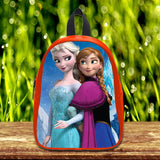Frozen Disney Princess Elsa and Anna cute Pre-School Backpack - School Bag Small (S) / Red, School Bag - fixcenters, fixcenters  - 4
