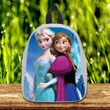 Frozen Disney Princess Elsa and Anna cute Pre-School Backpack - School Bag Small (S) / White, School Bag - fixcenters, fixcenters  - 5