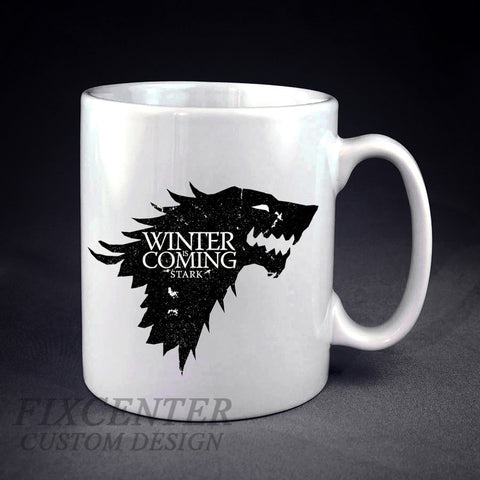 Game of Thrones House Stark Winter Is Coming Personalized mug/cup , mug / cup - fixcenters, fixcenters  - 1
