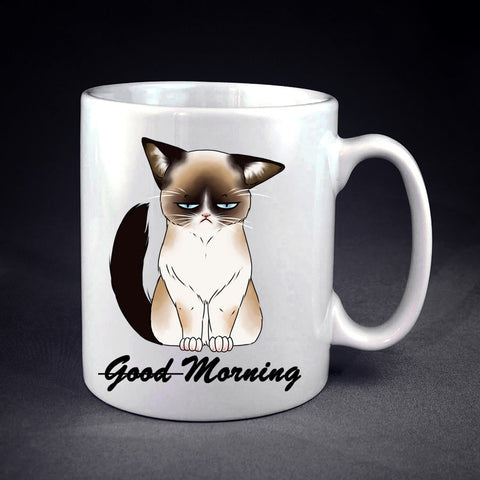Good Morning Cat ! Personalized mug/cup , mug / cup - fixcenters, fixcenters  - 1