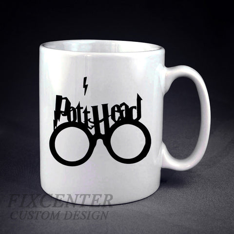 Harry Potter Thick Pott Head Personalized mug/cup , mug / cup - fixcenters, fixcenters  - 1