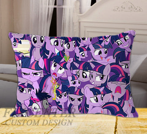 "Litle Pony on Rectangle Pillow Cover 20"" X 26"" / one side, Rectangle Pillow Case - fixcenters, fixcenters"