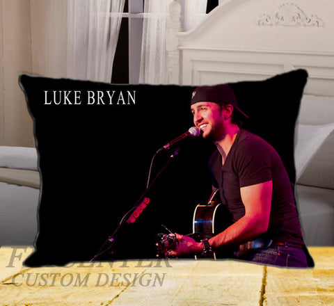 "Lucky Luke Like Bryan on Rectangle Pillow Cover 20"" X 26"" / one side, Rectangle Pillow Case - fixcenters, fixcenters"