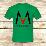 Maroon 5 Logo on T shirt S / Green / Men, tshirt - fixcenters, fixcenters  - 3