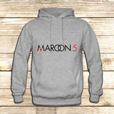 Maroon 5 Typography on Hoodie Jacket XS / Grey, hoodie - fixcenters, fixcenters  - 3