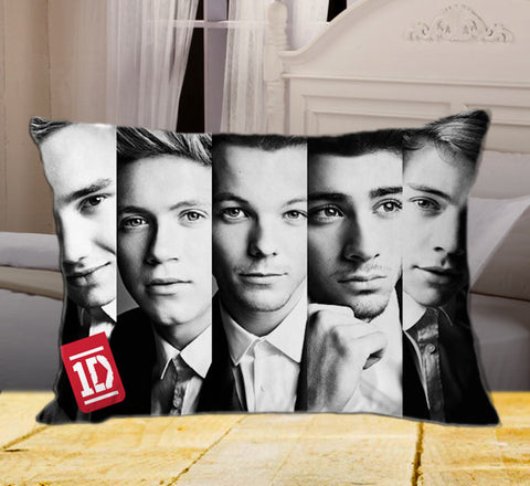"New One Direction PERSONALIZED on Rectangle Pillow Cover 20"" X 26"" / one side, Rectangle Pillow Case - fixcenters, fixcenters"