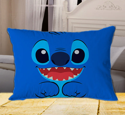 "Retro Lilo and Stitch Inspired on Rectangle Pillow Cover 20"" X 26"" / one side, Rectangle Pillow Case - fixcenters, fixcenters"