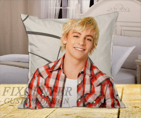 "Ross Lynch R5 Smile on Square Pillow Cover 16"" X 16"" / one side, Square Pillow Case - fixcenters, fixcenters"