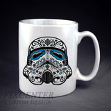 Star Wars Sugar Skull The Darth Vader Skull Personalized mug/cup , mug / cup - fixcenters, fixcenters  - 1