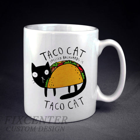 Taco Cat Personalized mug/cup , mug / cup - fixcenters, fixcenters  - 1