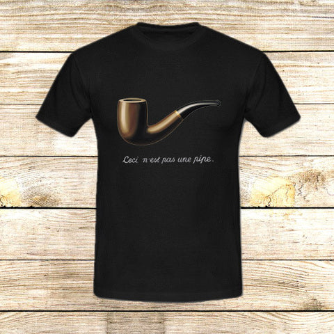 The Fault in Our Stars Ceci n'est pas une pipe on T shirt S / Black / Men, tshirt - fixcenters, fixcenters  - 1