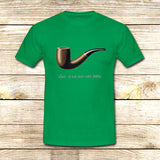 The Fault in Our Stars Ceci n'est pas une pipe on T shirt S / Green / Men, tshirt - fixcenters, fixcenters  - 3