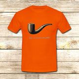 The Fault in Our Stars Ceci n'est pas une pipe on T shirt S / Orange / Men, tshirt - fixcenters, fixcenters  - 6