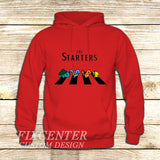 The Starters Pokemon Abbey Road on Hoodie Jacket XS / Red, hoodie - fixcenters, fixcenters  - 5
