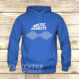 arctic monkeys t shirt soundwave am music indie rock band on Hoodie Jacket XS / Blue, hoodie - fixcenters, fixcenters  - 2