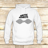 arctic monkeys t shirt soundwave am music indie rock band on Hoodie Jacket XS / White, hoodie - fixcenters, fixcenters  - 6