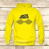 arctic monkeys t shirt soundwave am music indie rock band on Hoodie Jacket XS / Yellow, hoodie - fixcenters, fixcenters  - 7