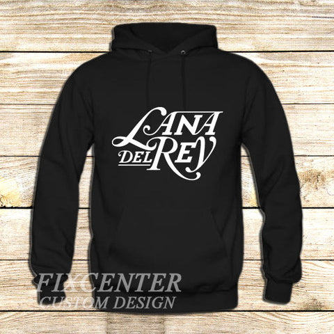 lana del rey on Hoodie Jacket XS / Black, hoodie - fixcenters, fixcenters  - 1