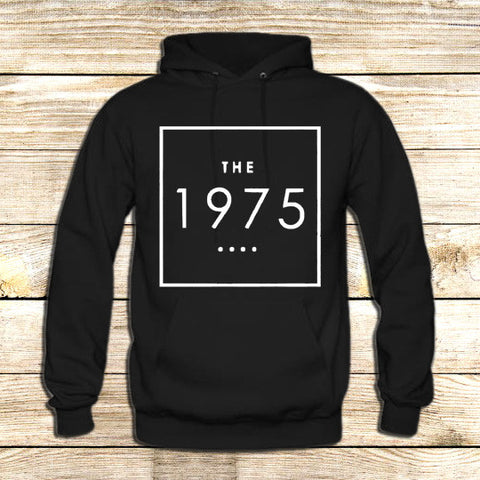 the 1975 t shirt box swag logo facedown rock band music indie on Hoodie Jacket XS / Black, hoodie - fixcenters, fixcenters  - 1