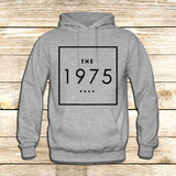 the 1975 t shirt box swag logo facedown rock band music indie on Hoodie Jacket XS / Grey, hoodie - fixcenters, fixcenters  - 3