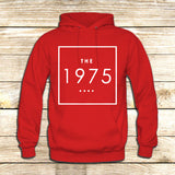 the 1975 t shirt box swag logo facedown rock band music indie on Hoodie Jacket XS / Red, hoodie - fixcenters, fixcenters  - 5