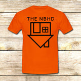 the neighbourhood on T shirt S / Orange / Men, tshirt - fixcenters, fixcenters  - 6