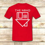 the neighbourhood on T shirt S / Red / Men, tshirt - fixcenters, fixcenters  - 7
