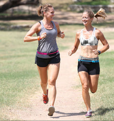 Running with a friend