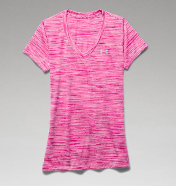 UA Tech™ Space Dye V-Neck