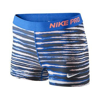 "Nike Pro Combat 3"" Tiger Printed Compression Shorts"
