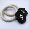 New High Quality 28mm Wooden Gymnastic Rings