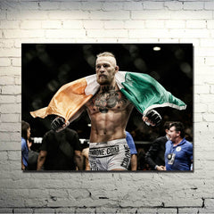 UFC Conor McGregor Canvas Poster
