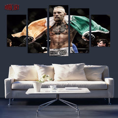UFC 5 Piece Conor McGregor May Picture Painting