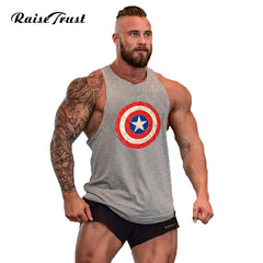 Men's Bodybuilding Super Hero Tank Tops