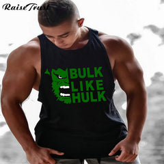 "Men's ""Bulk like Hulk"" Bodybuilding Tank Top"