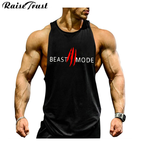 Men's Sleeveless Bodybuilding Tank Tops