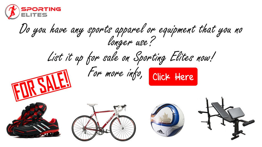 Sell Your Used Sports Equipment