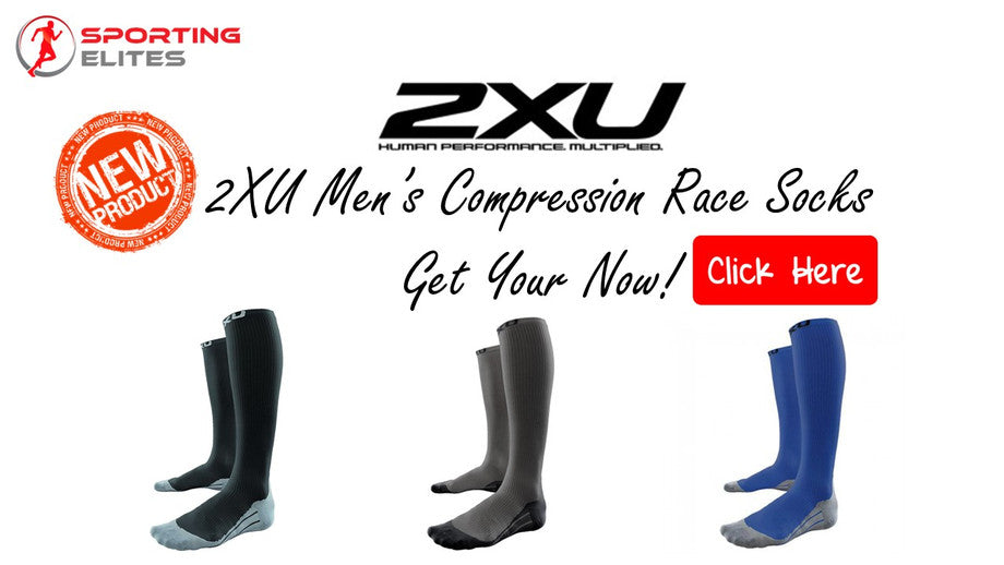 New Product 2XU Men's Compression Ran Race Socks
